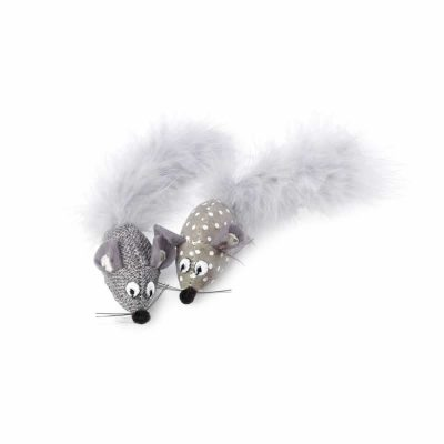 house-of-paws-grey-mouse-toy