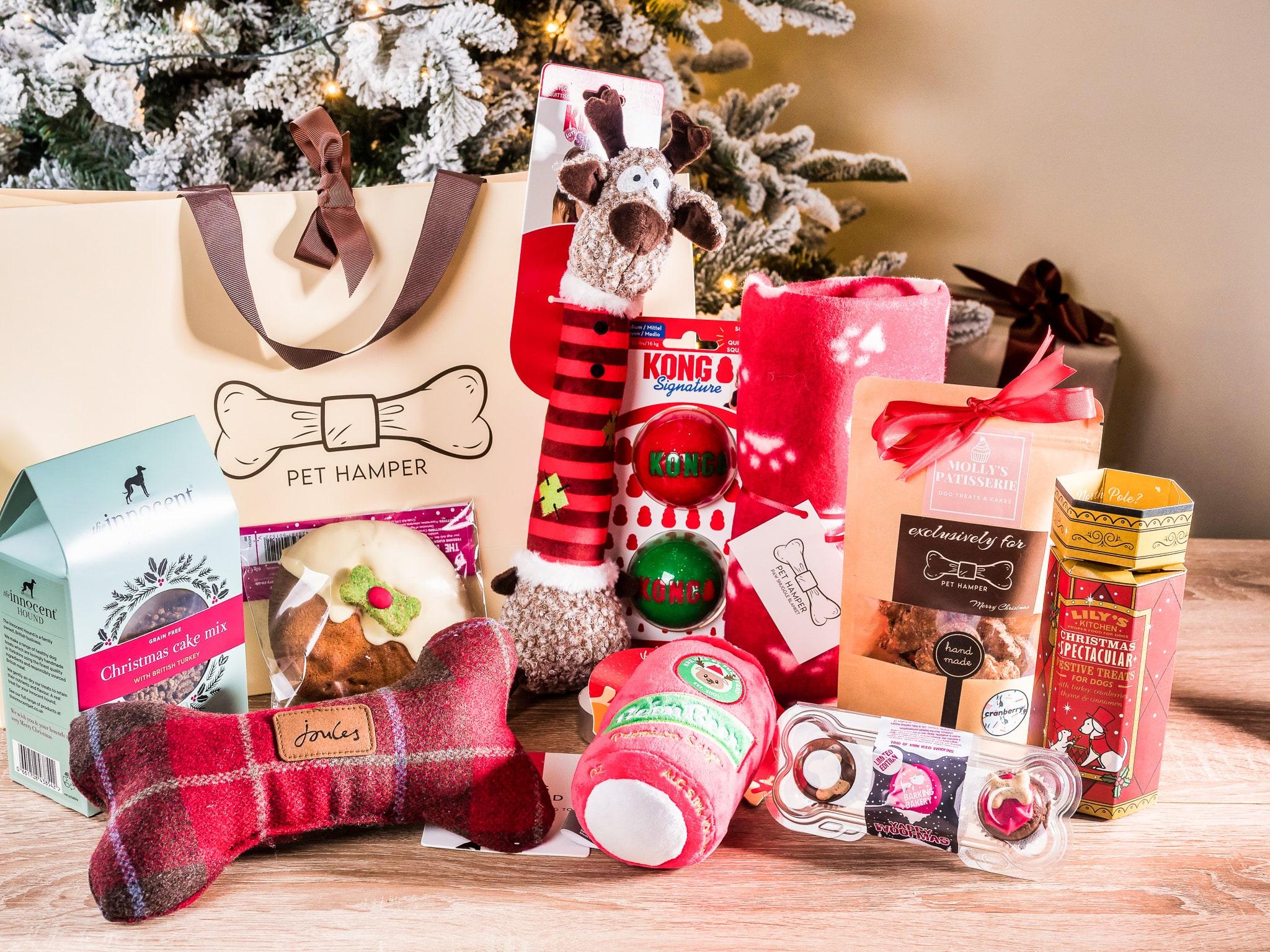 Christmas dogs gift box