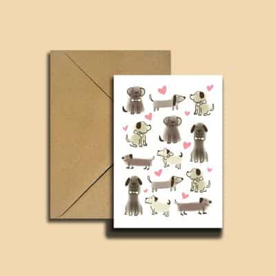 welcome new puppy card design 1