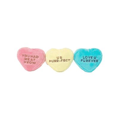 FuzzYard Hearts Cat Toy